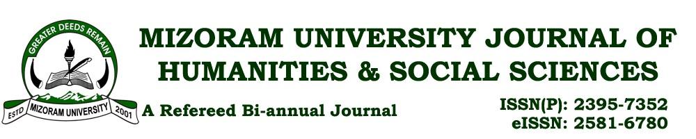 Mizoram University Journal of Humanities & Social Sciences